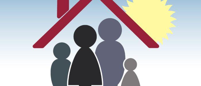 Symbolbild Familie schützen